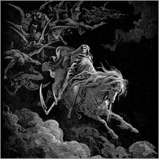 Galleritryk  The Vision of Death - Gustave Doré
