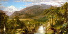 Galleritryk  Heart of the Andes - Frederic Edwin Church