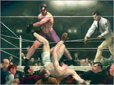 Galleritryk  Dempsey and Firpo - George Wesley Bellows