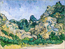 Galleritryk  The Alpilles - Vincent van Gogh
