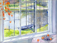 Selvklæbende plakat  View of the boat - Timothy Easton