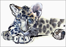 Galleritryk  Little Leopard - Mark Adlington