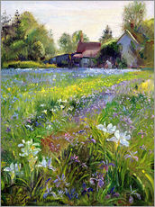 Galleritryk  Cottage in the country - Timothy Easton