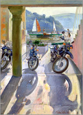 Galleritryk  Wheels and Sails - Timothy Easton