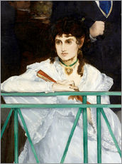 Galleritryk  The Balcony (Detail) - Edouard Manet