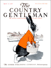 Galleritryk  Cover of Country Gentleman (Hare) - Remsberg