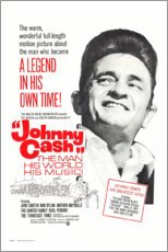 Lærredsbillede  Johnny Cash! The Man, His World, His Music - Entertainment Collection