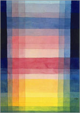 Galleritryk  Architecture of the Plain - Paul Klee