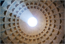 Galleritryk  Ceiling of the Pantheon temple, Rome - Matteo Colombo