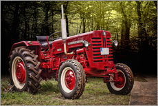 Galleritryk  McCormick tractor Oldtimer - Peter Roder