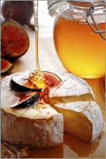 Galleritryk  Brie Cheese and Figs with honey - Johan Swanepoel