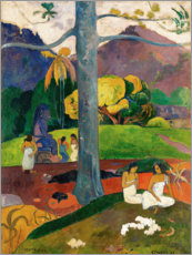 Lærredsbillede  Mata Mua (In Olden Times) - Paul Gauguin