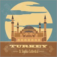 Galleritryk  Turkey - Hagia Sophia
