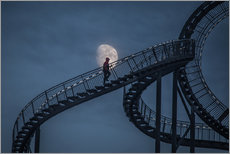 Galleritryk  Stairway to the moon - Roelof de Hoog