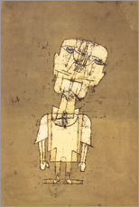 Selvklæbende plakat  Ghost of a Genius - Paul Klee