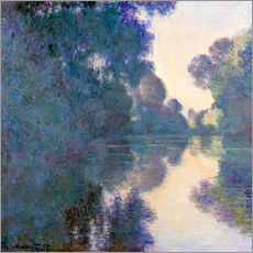 Galleritryk  Morning on the Seine near Giverny - Claude Monet