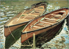 Galleritryk  Boats - Claude Monet