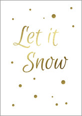 Galleritryk  Let It Snow - Finlay and Noa
