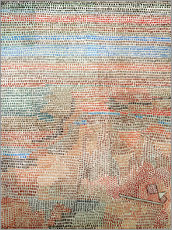Galleritryk  the whole dawning - Paul Klee