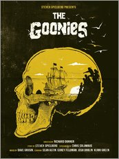 Selvklæbende plakat  The Goonies - Golden Planet Prints