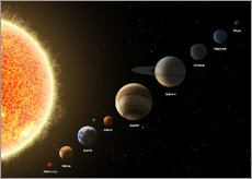 Galleritryk  Our planets