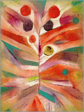 Akrylbillede  Feather Plant - Paul Klee