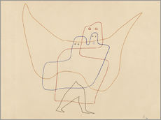 Galleritryk  In Angel's Care - Paul Klee