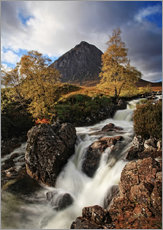 Galleritryk  Scotland in Autumn - Buchaille Etive Mor - Martina Cross