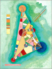 Galleritryk  Variegation in the triangle - Wassily Kandinsky