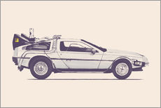 Galleritryk  Delorean - Florent Bodart