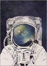 Galleritryk  Dreaming of Space - Tracie Andrews
