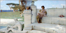Galleritryk  The Voice of Spring. - Lawrence Alma-Tadema