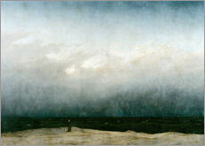 Galleritryk  Munk ved havet - Caspar David Friedrich