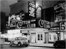 Selvklæbende plakat  Cotton Club i Harlem, New York