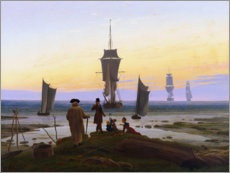 Akrylbillede  The Stages of Life - Caspar David Friedrich