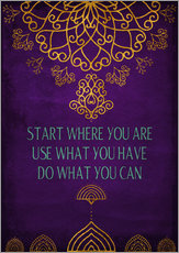 Galleritryk  Do what you can - Sybille Sterk