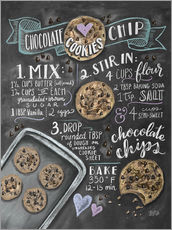 Galleritryk  Chocolate chip cookies opskrift (engelsk) - Lily & Val