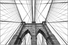 Galleritryk  Brooklyn bridge