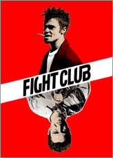 Selvklæbende plakat  Fight Club - Paola Morpheus