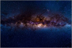 Galleritryk  The Milky Way galaxy, details of the colorful core. - Fabio Lamanna