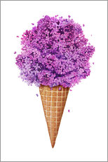 Galleritryk  Ice cream with lilac - Valeriya Korenkova