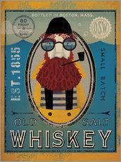 Selvklæbende plakat  Sailor IV Old Salt Whiskey - Ryan Fowler