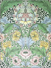 Selvklæbende plakat  Myrtle - William Morris