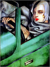 Galleritryk  Autoportrait (Self-Portrait in a Green Bugatti) - Tamara de Lempicka