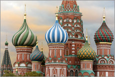 Galleritryk  St. Basil's Cathedral in Moscow - Miles Ertman