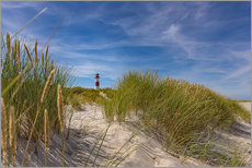 Galleritryk  Lighthouse List / East with dune - Heiko Mundel