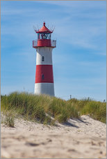 Galleritryk  Striped lighthouse - Heiko Mundel