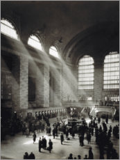 Akrylbillede  Holiday Crowd at Grand Central Terminal