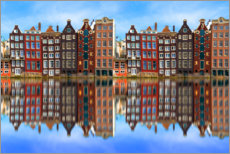 Akrylbillede  Reflected Amsterdam - George Pachantouris