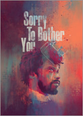 Akrylbillede  Sorry To Bother You - Fourteenlab